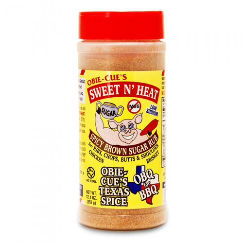 Blend rich brown sugar and classic spices, just enough salt, and a bump of heat for breathtaking BBQ! Make your ribs and chops or succulent chicken into neighborhood legends with this wonderful LOW SODIUM (75 mg) and NO MSG rub.