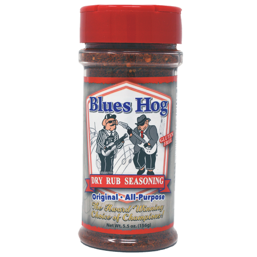 Blues Hog Dry Rub Seasoning is a versatile BBQ rub that will boost the natural flavors of any cut of meat or side dish you use it on - pork, chicken, wild game, and it even compliments vegetables!