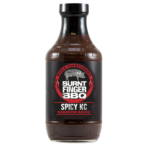 Burnt Finger Spicy BBQ Sauce