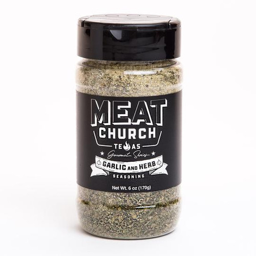 Our Gourmet Garlic & Herb is made from the finest ingredients. Ain't nobody got thyme for a cheap garlic & herb. This is our favorite of the gourmet series and is great on meats, vegetables and bread. We find ourselves using it in every cook and we hope you do too.
