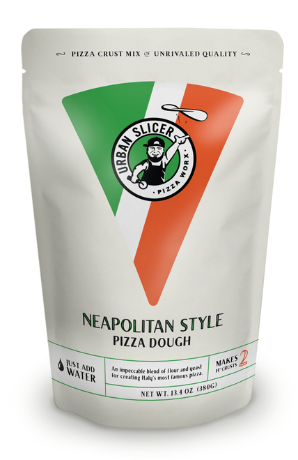 "An impeccable blend of flour and yeast for creating Italy's most famous pizza. Each package makes TWO 14"" Neapolitan Style crusts."