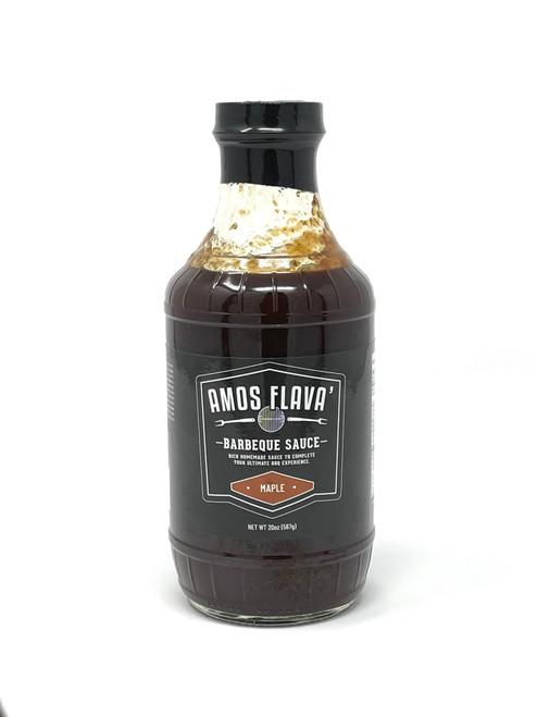 Amos Flava' Maple BBQ Sauce