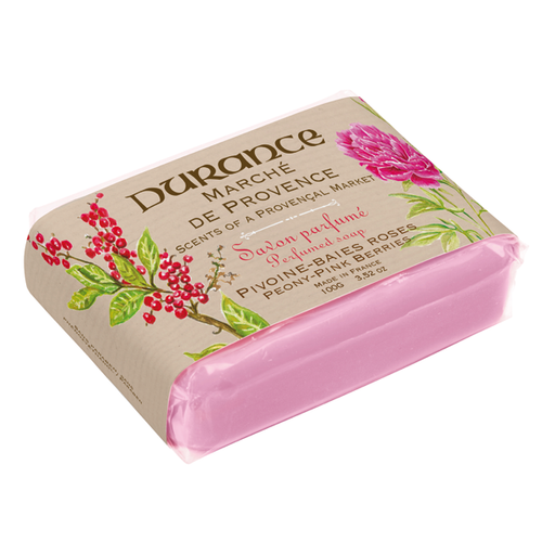 PEONY - PINK BERRIES SCENTED SOAP 3.5 oz
