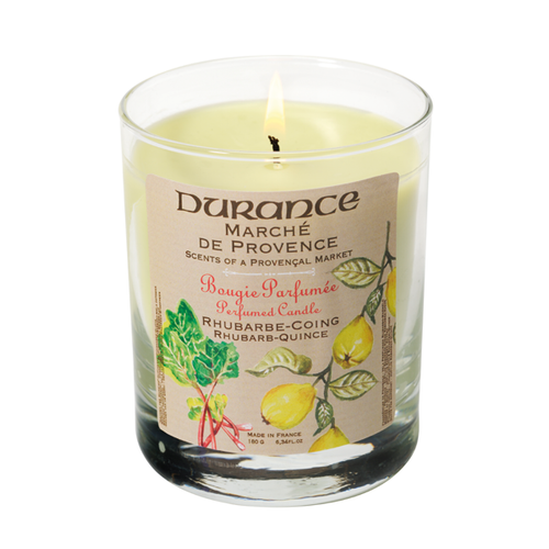 RHUBARBE - QUINCE CANDLE 6.34 oz