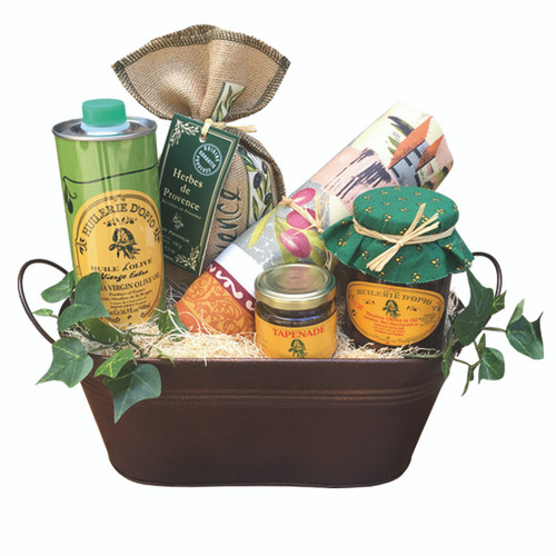 DELUXE MIXED GOURMET GIFT BASKET