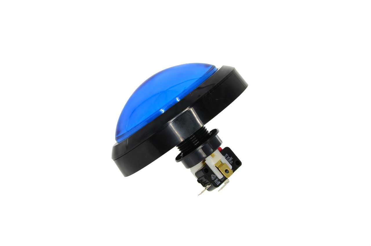 Large Blue Push Button for Speed of Light (EA0584)