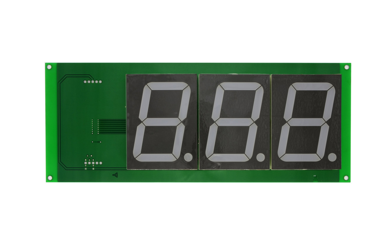 "3 Digit 7 Segment 4"" Display for Slam 'N' Jam (BA1601)"