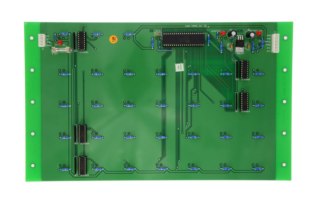 Blue LED display for Stacker Club (BAFB82A)