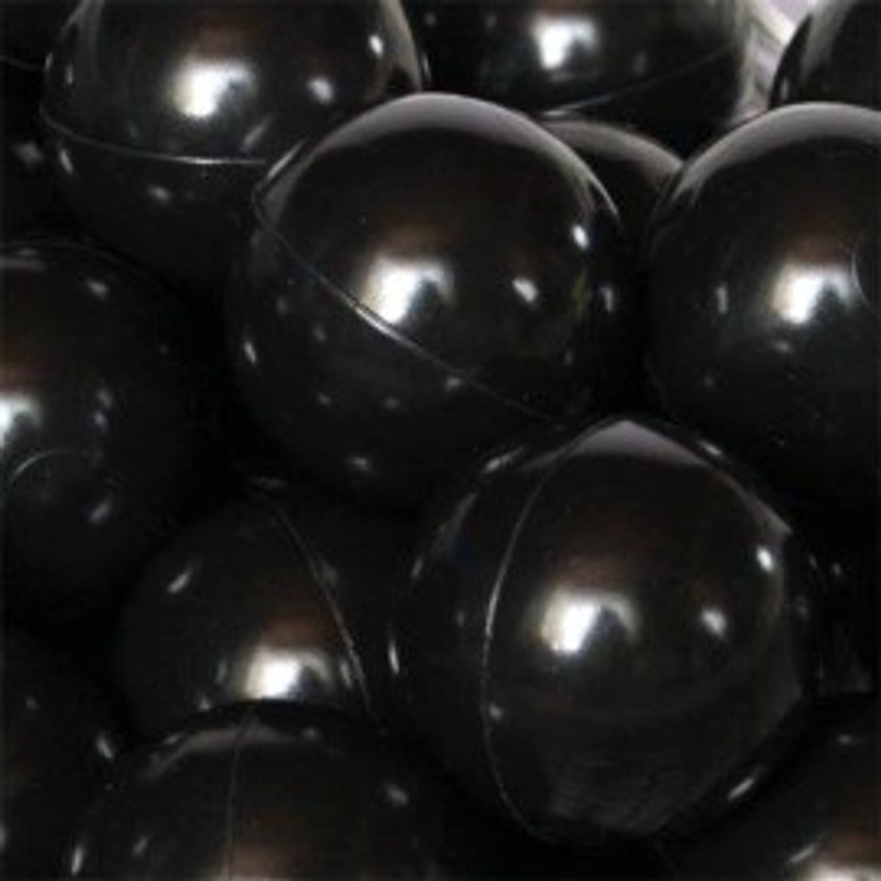 Black Plastic Balls for Pirate Battle - Must order in multiples of 100 (HP0012-BLK)