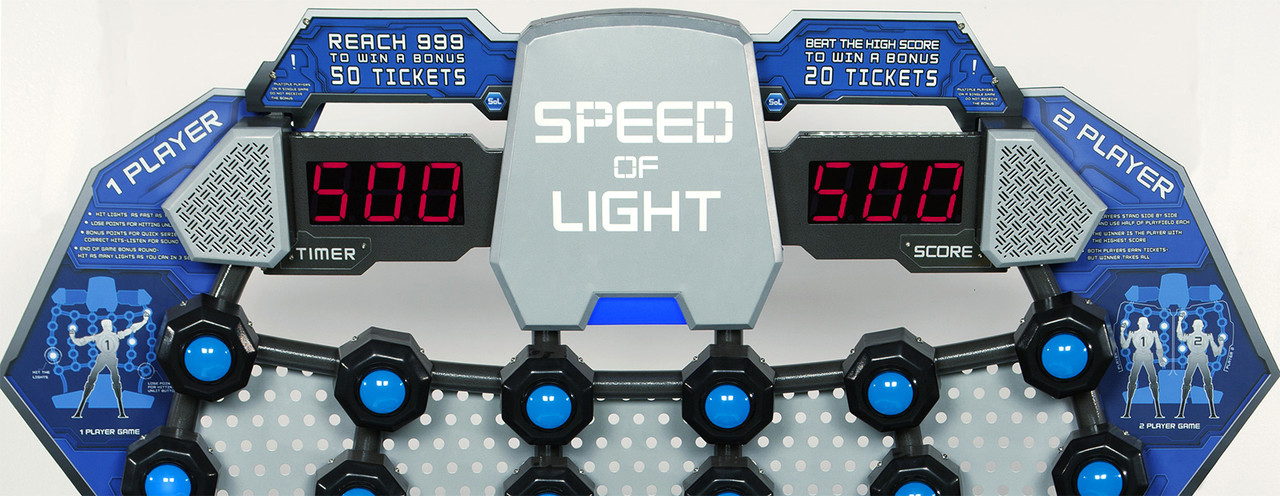 Speed of Light Score Displays