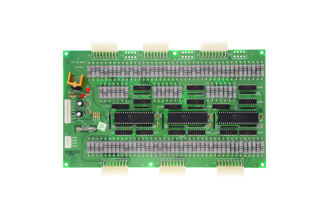 Display Driver for Multiple Games (BAFB152)