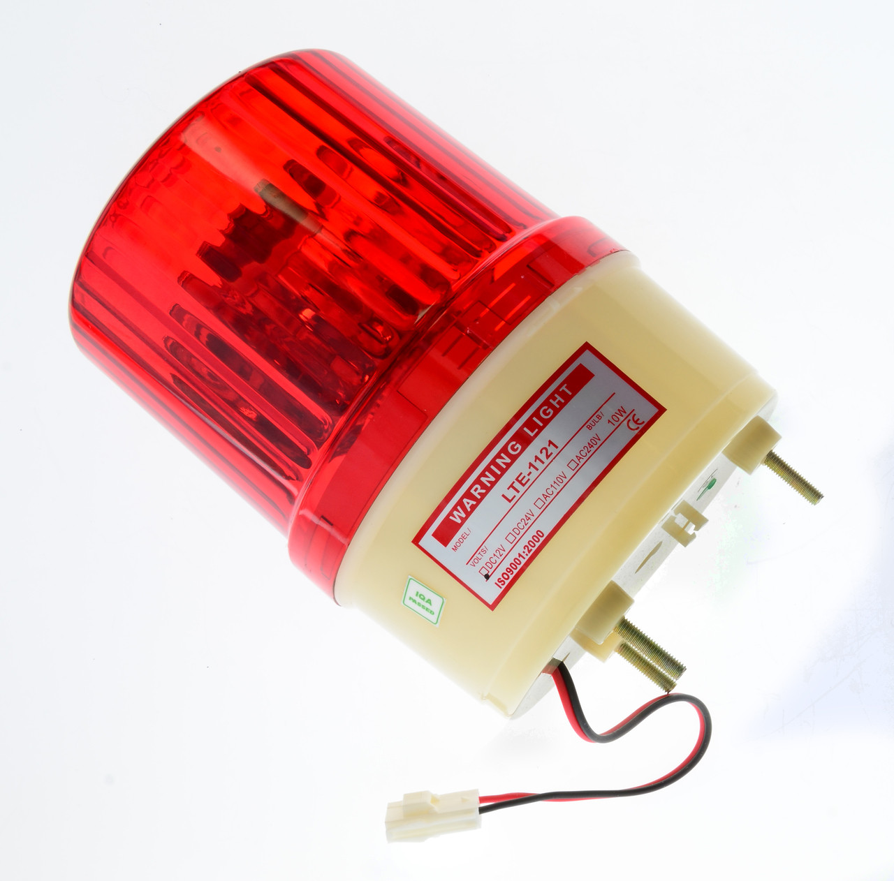 "Red 5"" Rotary Lamp for Mega Stacker (EA0284)"