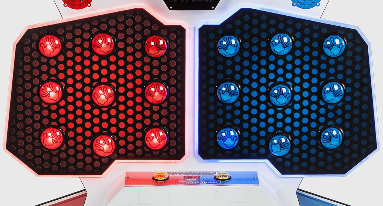 Red Dome Push Button with LED for High Five (EA0369)