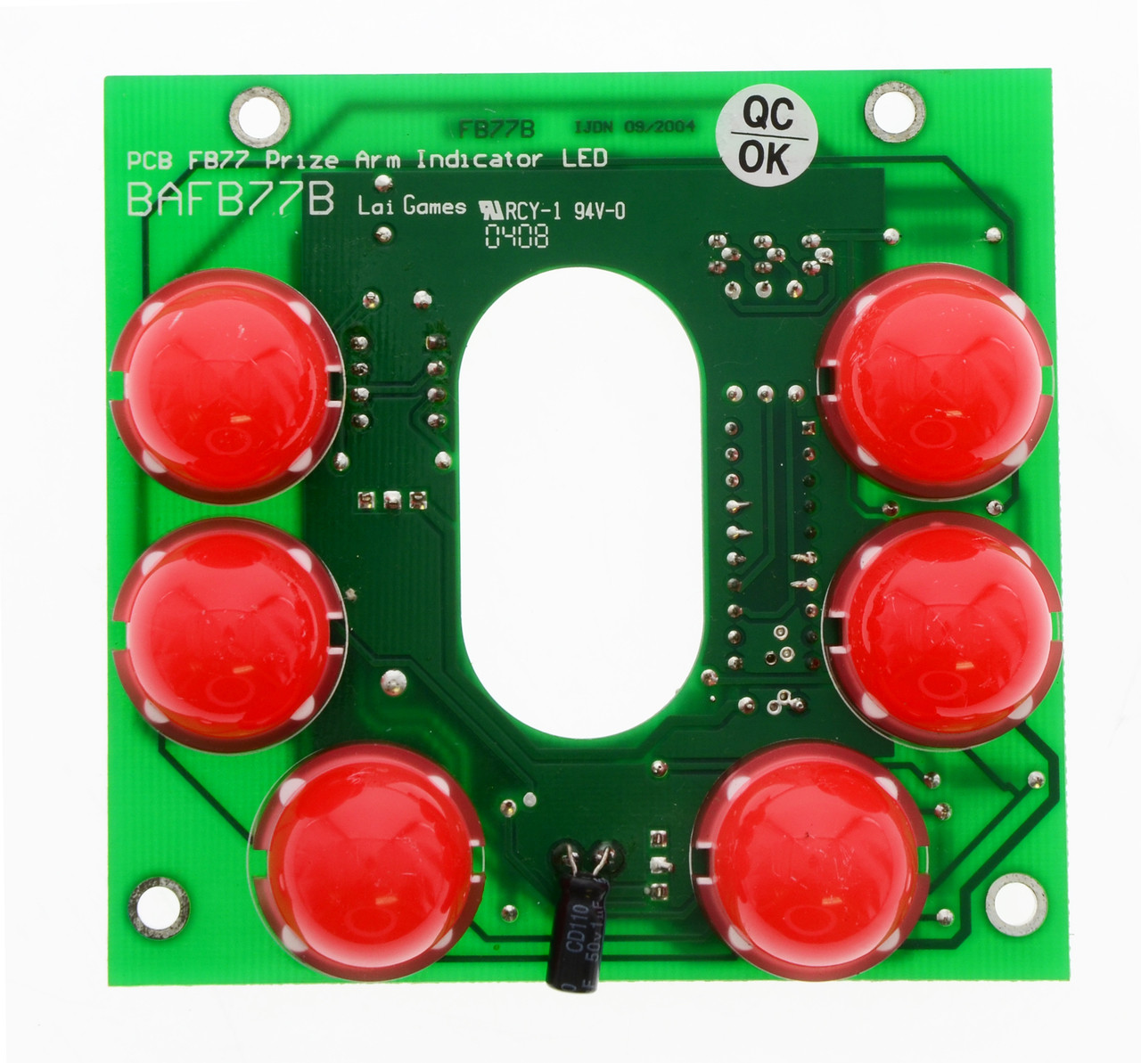 Modified Prize Arm LED Indicator for Stacker (BAFB77B)