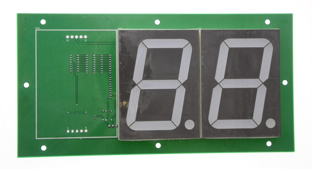 "2 Digit 4"" Display for HYPERshoot (BA1608B)"