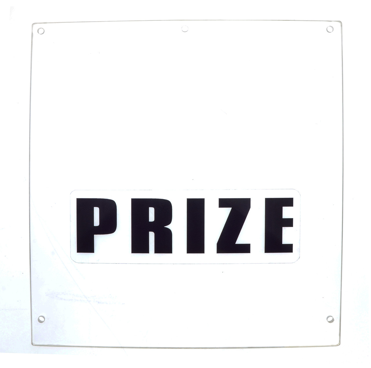 Balloon Buster Acrylic Prize Door (BB1-FP-019-R5)