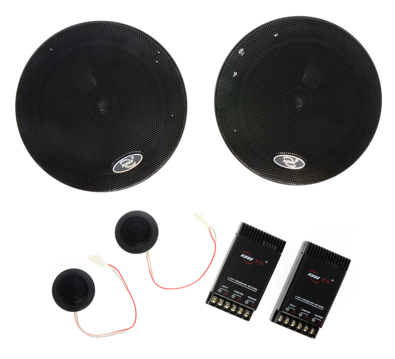 "6.5"" 2-Way Component Speaker for Virtual Rabbids (KY-661)"