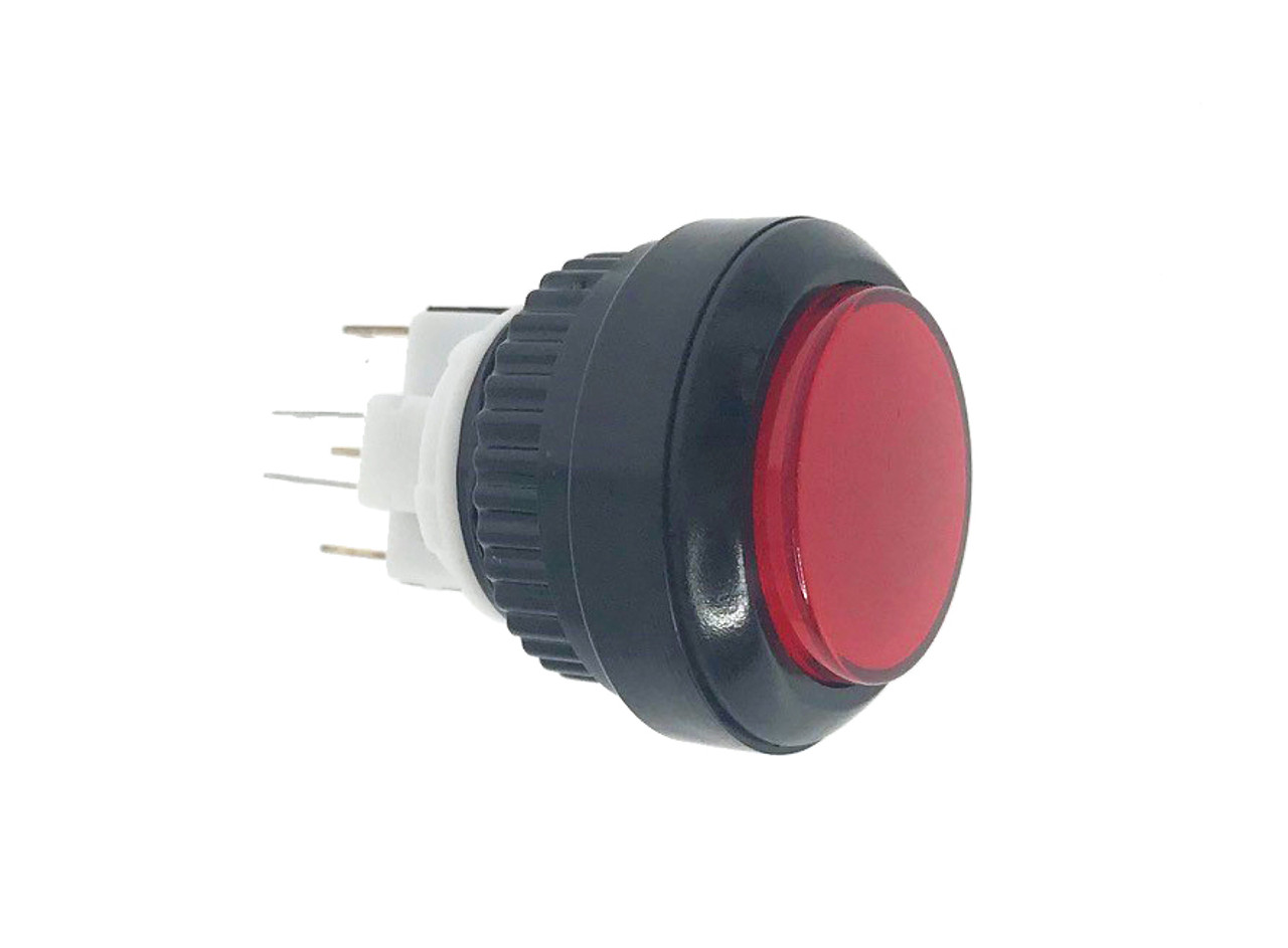 Red Round Button for Ghost Town Guns (GTWN-EA-0027)