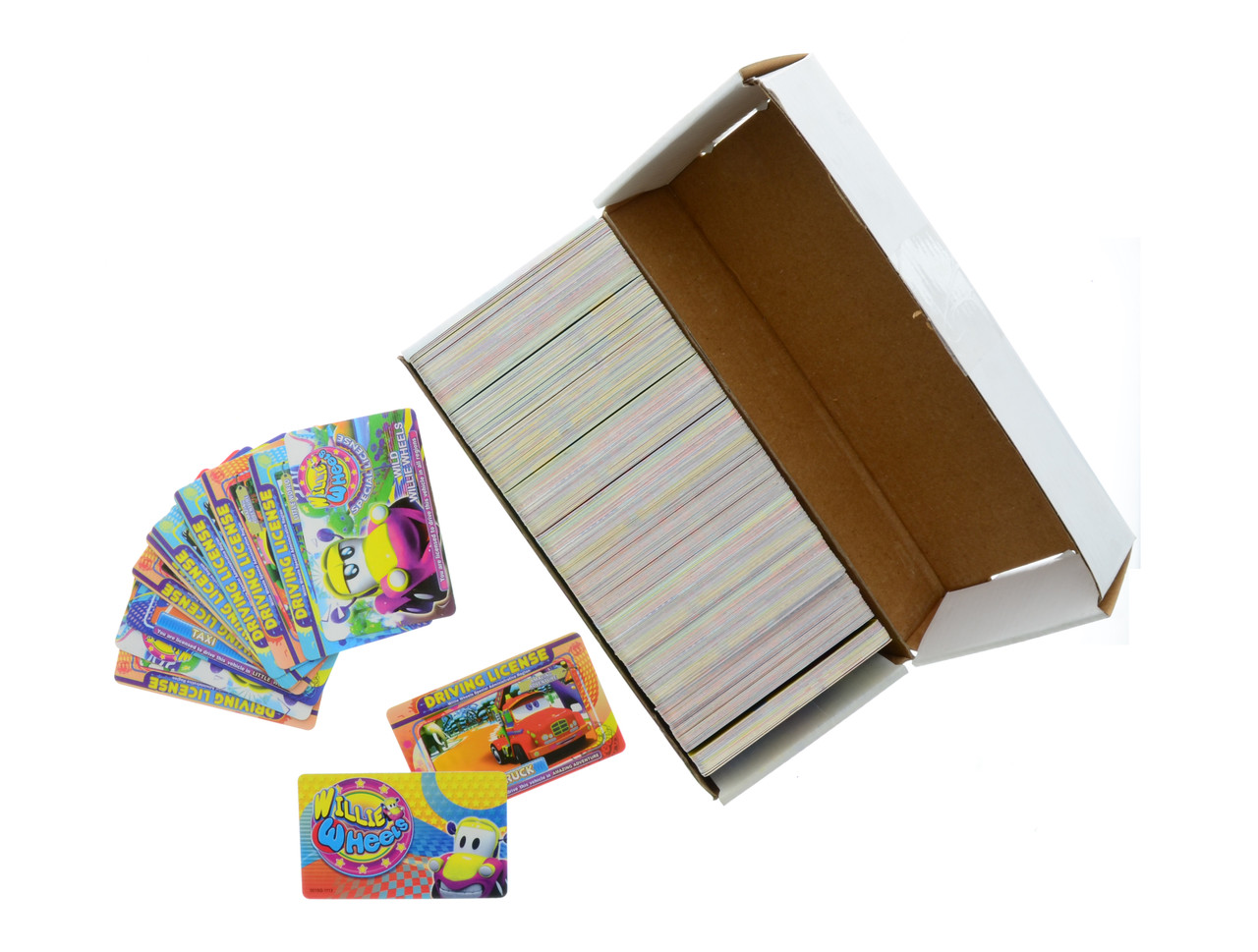 Willie Wheels Collector Cards - Box of 500 (WW CARD)