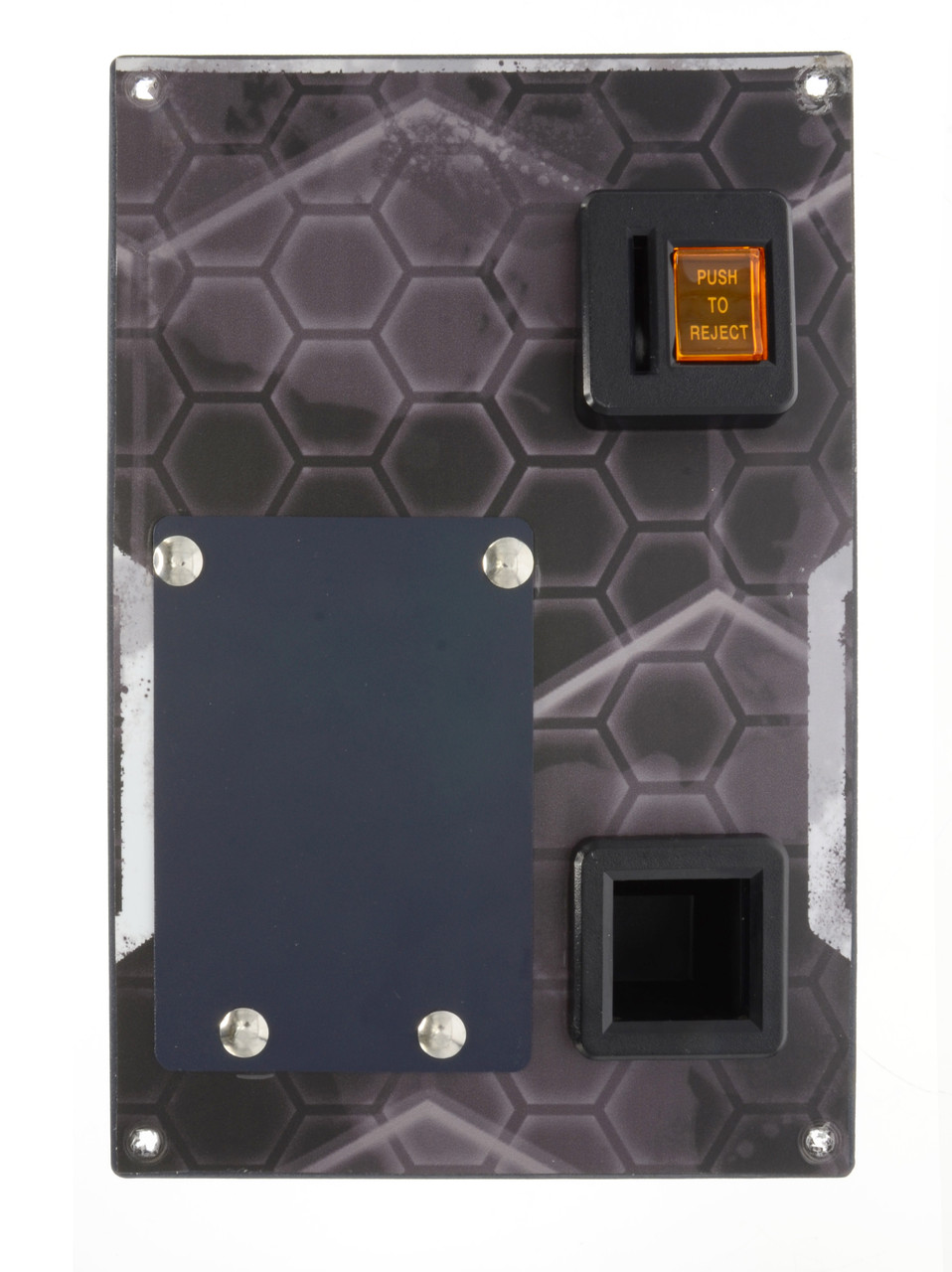 DBA/Coin Door Plate with Decal for HYPERshoot (HSH-FM-038-R0)