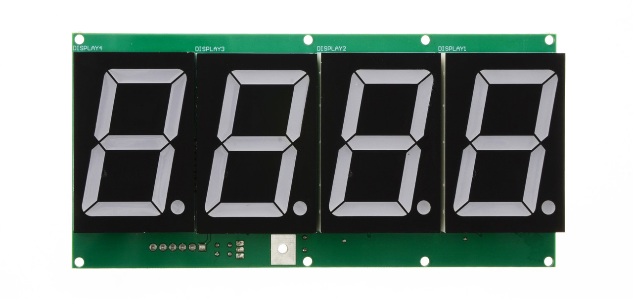4-Digit, 7 Segment 2.3in Display - RED for HYPERpitch (BAFB44R)
