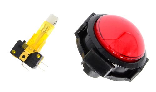 Red Start/Stop Push Button Assembly for Stacker Standard, Speed of Light (EA0547)
