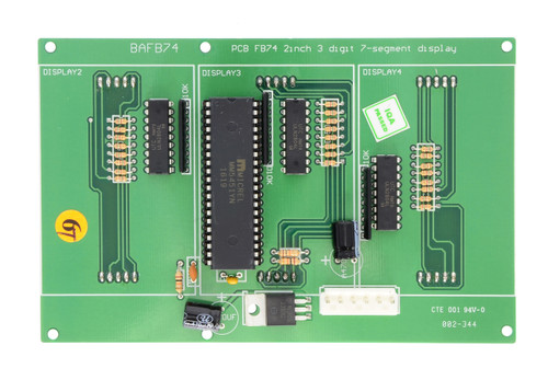 High Five 3-Digit Display (BAFB74-SP)