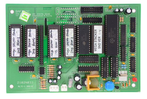 Sound Board for Mega Stacker (BAFB52C-MEGA)