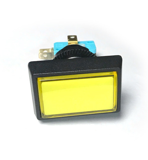 Yellow Rectangular Push Button with Switch for Slam 'N' Jam (EA0509)