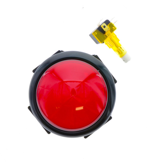 Large Red Button: for Mega Stacker, Stack 'N' Grab, Giant Stacker, & Ball Toss Games (EA0523)