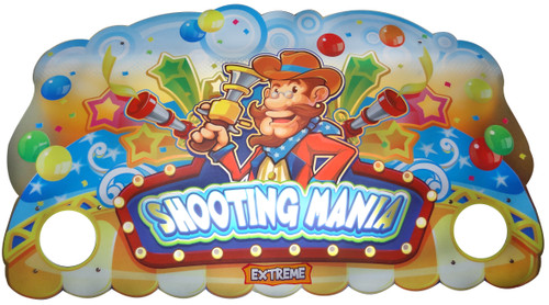 Shooting Mania Acrylic Header