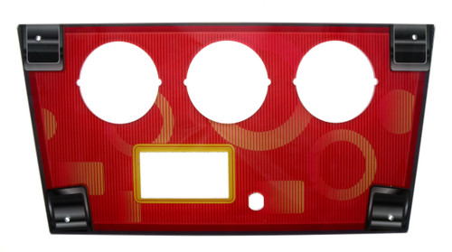 Shooting Mania Acrylic Control Panel - Red (SHM-FP-017)