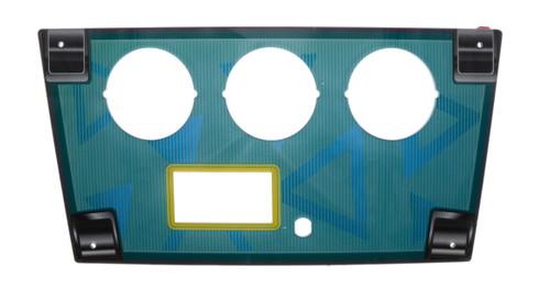 Shooting Mania  Acrylic Control Pane - Blue (SHM-FP-018)