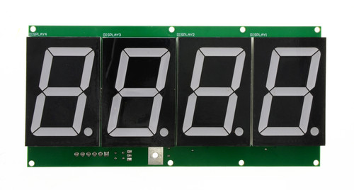 4-Digit, 7 Segment 2.3in Display -WHITE for HYPERpitch (BAFB44W)