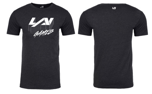 LAI Games T-shirt in Charcoal Gray