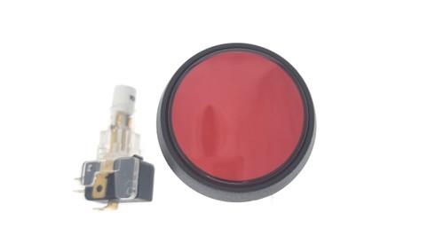 Medium Round Red button w/switch (EA0503)