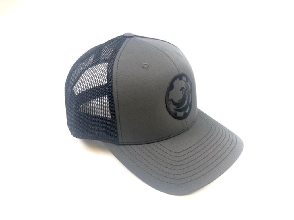 Charcoal/black OP Logo Snapback