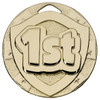 50mm 1st Place Embossed Medal with FREE Engraving