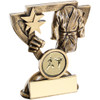 Cup Star Martial Arts Trophy available in 2 budget sizes and includes FREE personalised engraving at 1st Place 4 Trophies