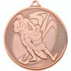 50mm Bronze Rugby tackle medal award