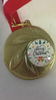 Festive 'Merry Christmas' Medal available in Gold, Silver & Bronze and quantities of 1,10,20 & 50