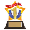 1st Place acrylic mini-star award at 1st Place 4 Trophies