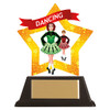 Irish dance acrylic mini-star award at 1st Place 4 Trophies