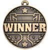 50mm high quality WINNER medal