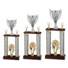 Tower trophy cup in 3 sizes