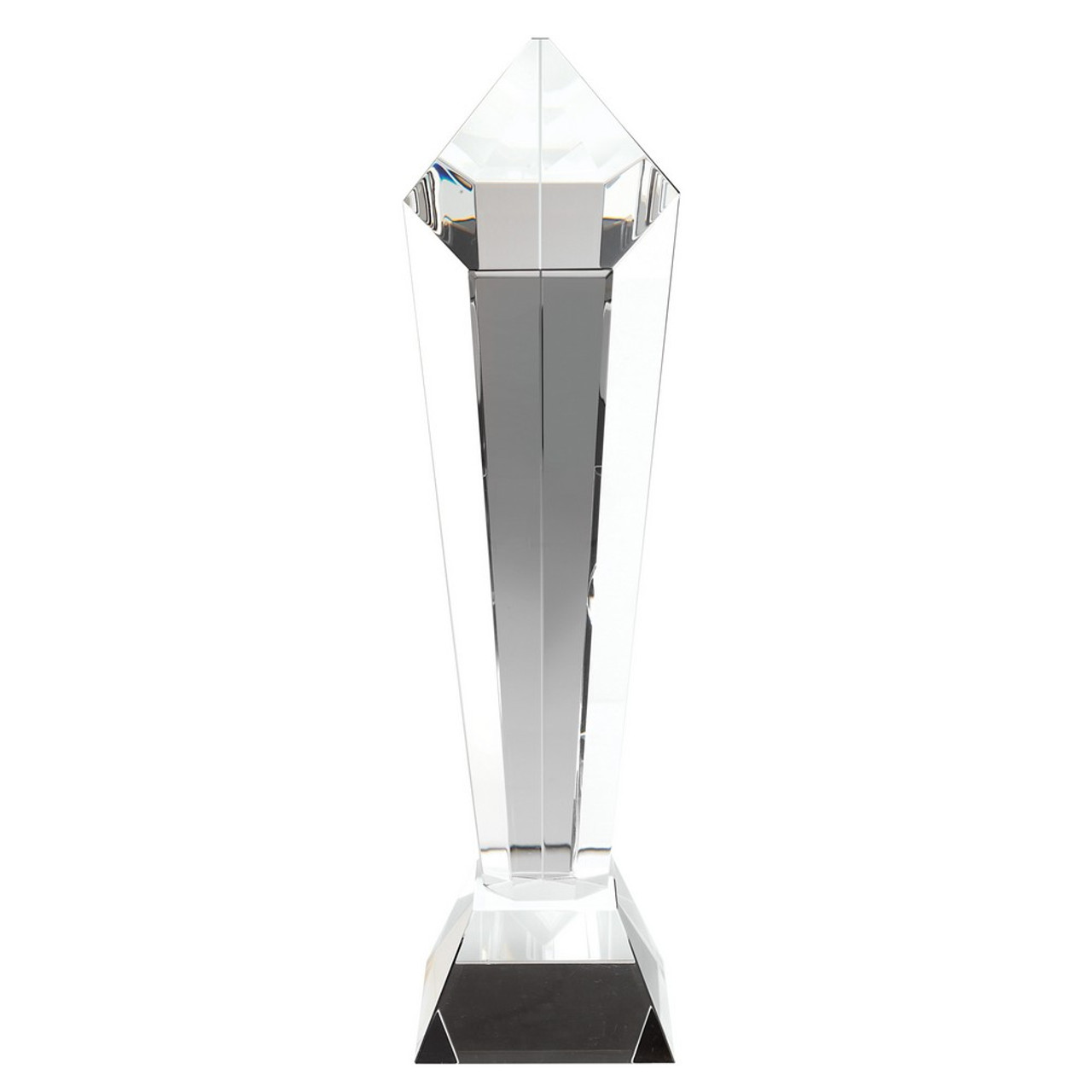 Premium Glass Award available in 2 sizes with optional glass engraving.