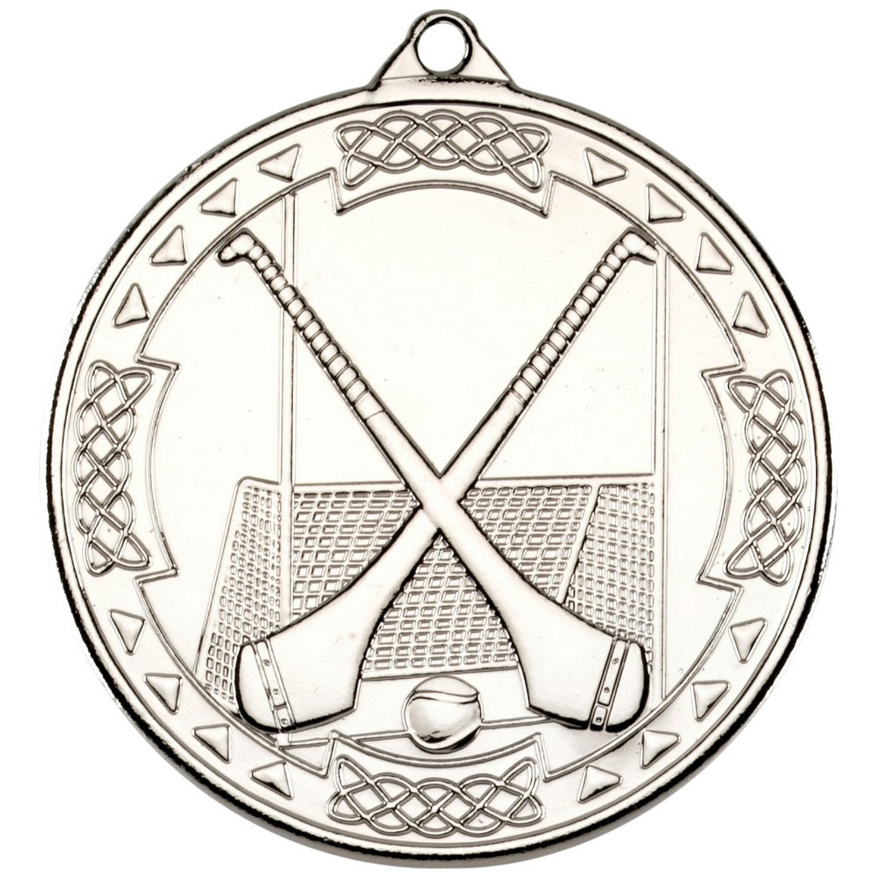 50mm Silver Hurling Medal Award