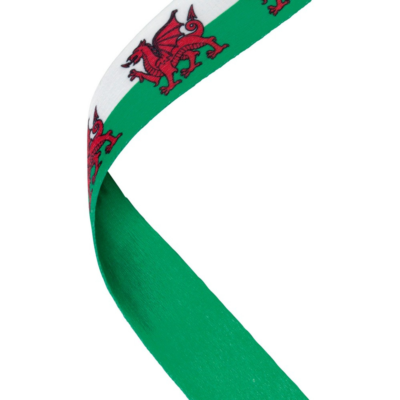 Wales Welsh Dragon Medal Ribbon at 1stPlace4Trophies