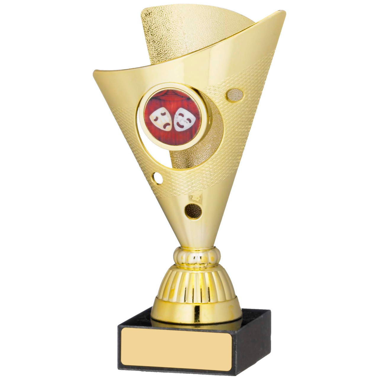 """6"""" Gold Trophy Cup with FREE engraving"""