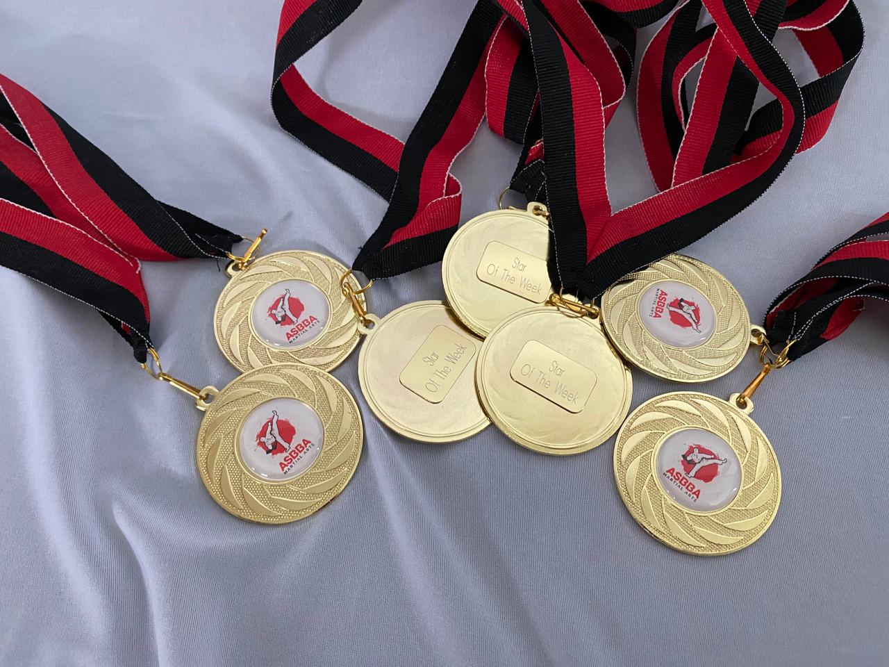 Cheerleading medals